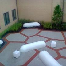 Antrim Area Hospital - Terrazzo