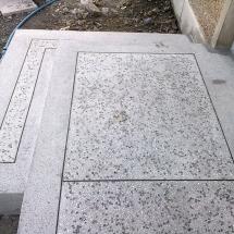 In-situ stairs - Terrazzo